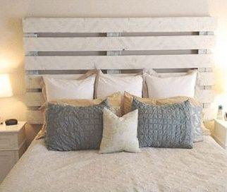 cabecero de camas con palets